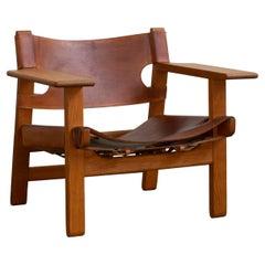 Børge Mogensen Spanish Chair for Fredericia Furniture
