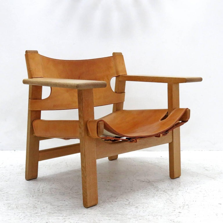 Scandinavian Modern Børge Mogensen 'Spanish Chair', Model 2226 For Sale