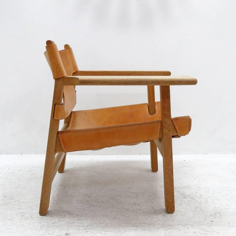 Danish Børge Mogensen 'Spanish Chair', Model 2226 For Sale