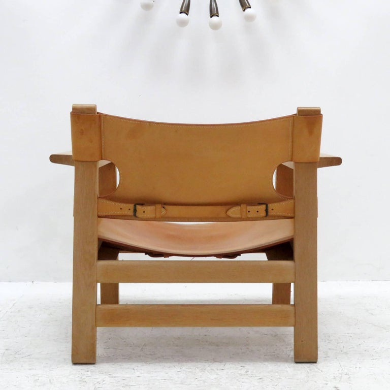 Late 20th Century Børge Mogensen 'Spanish Chair', Model 2226 For Sale