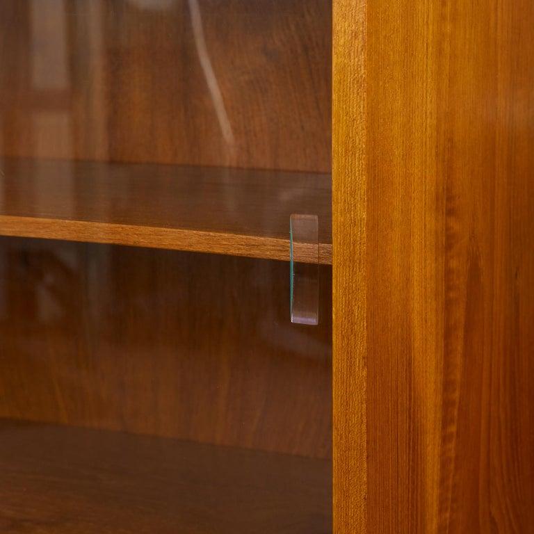 Børge Mogensen Teak Bookcase with Sliding Glass Doors 5