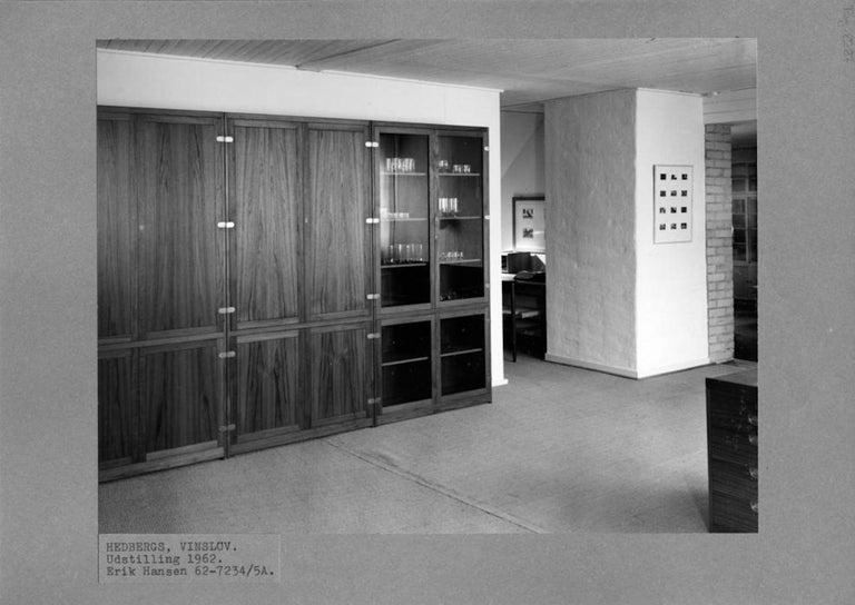 Danish Børge Mogensen, Teak cupboard, Model BM 67, Made by P. Lauritzen, 1958 For Sale