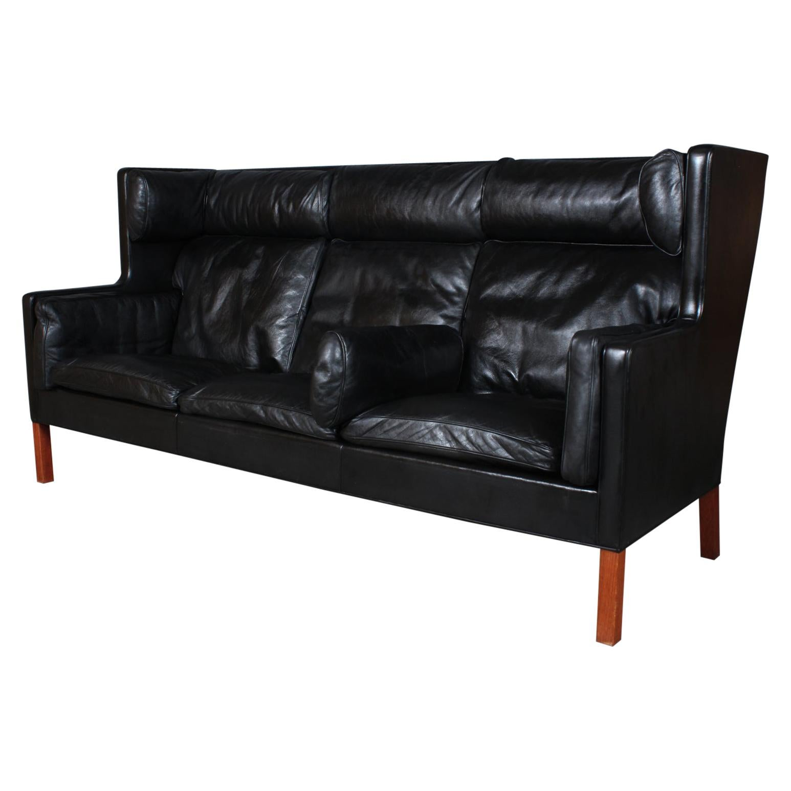 Børge Mogensen Three-Seat Kupé Sofa