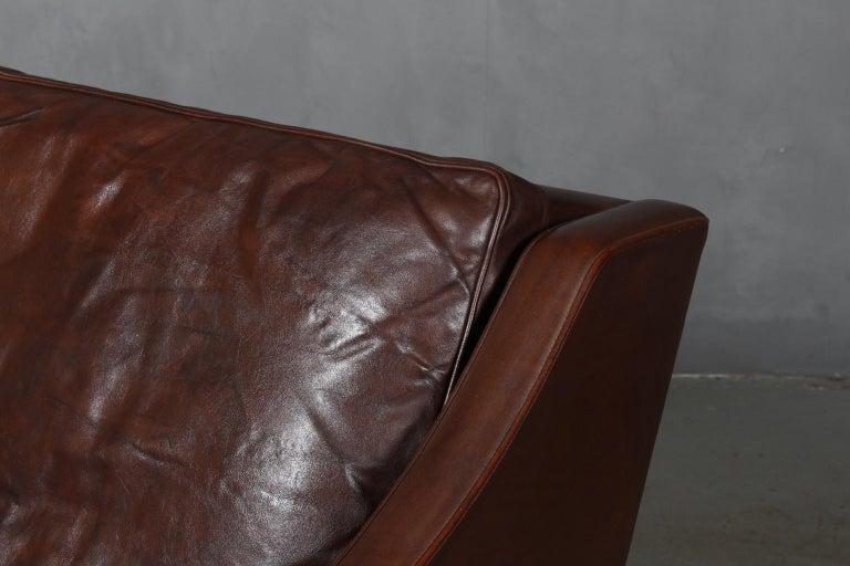 Scandinavian Modern Børge Mogensen Three-Seat Sofa
