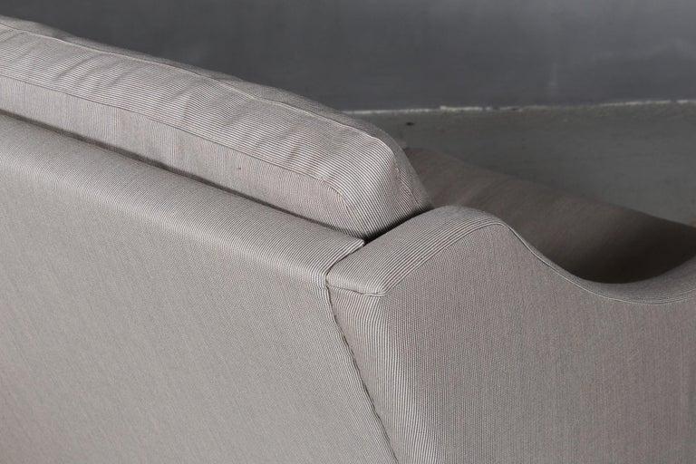 Fabric Børge Mogensen Three-Seat Sofa For Sale