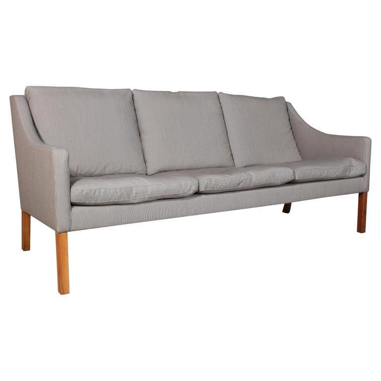 Børge Mogensen Three-Seat Sofa For Sale