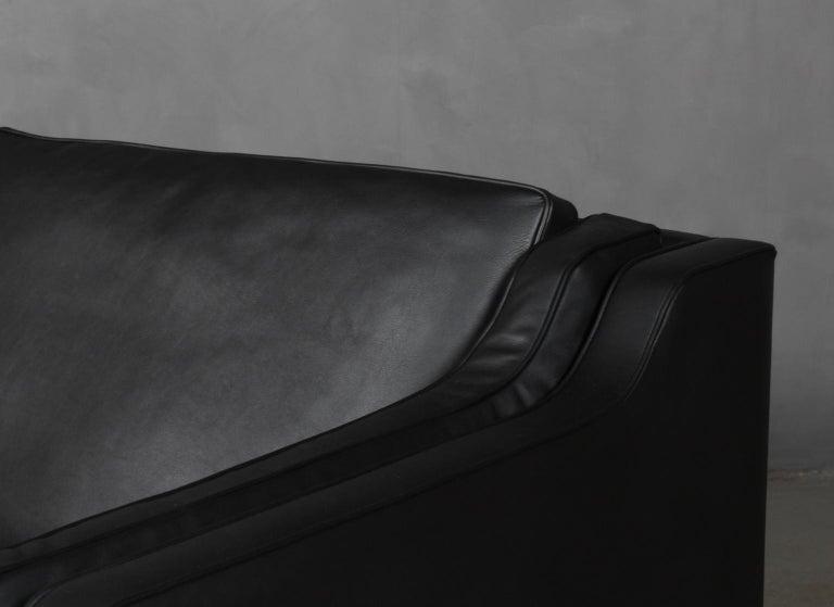 Scandinavian Modern Børge Mogensen Three-Seat Sofa, Model 2213 For Sale