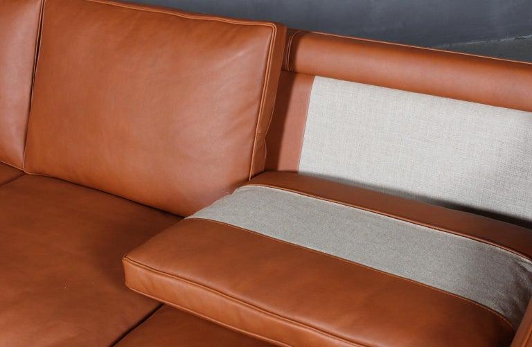 Børge Mogensen Three-Seat Sofa, Model 2213 For Sale 1