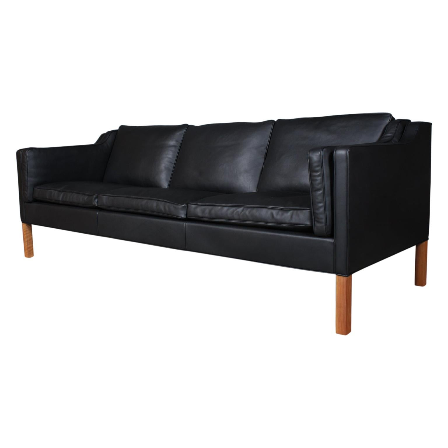 Børge Mogensen Three-Seat Sofa, Model 2213