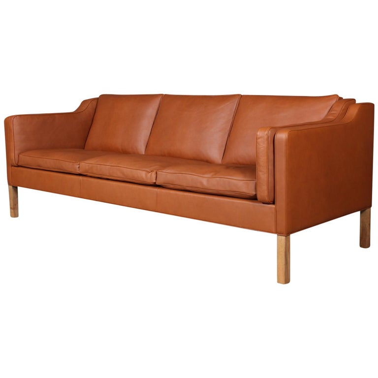 Børge Mogensen Three-Seat Sofa, Model 2213 For Sale
