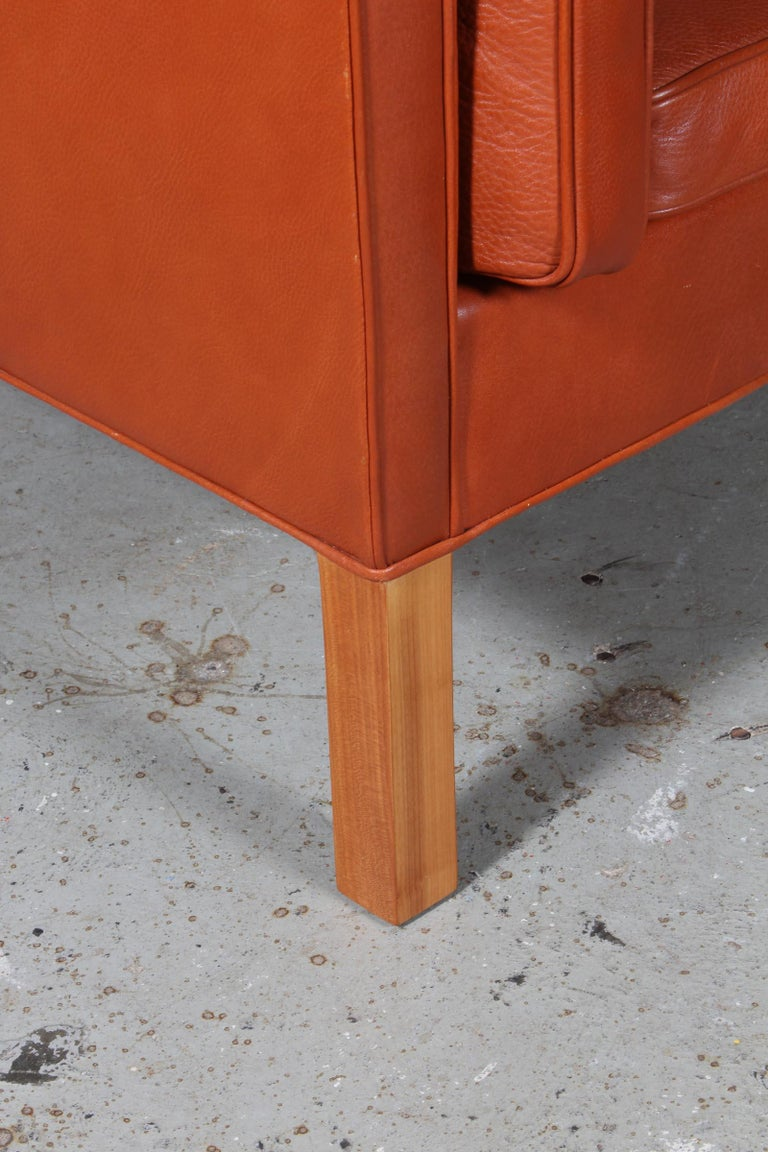 Danish Børge Mogensen Two-Seat Kupé Sofa For Sale