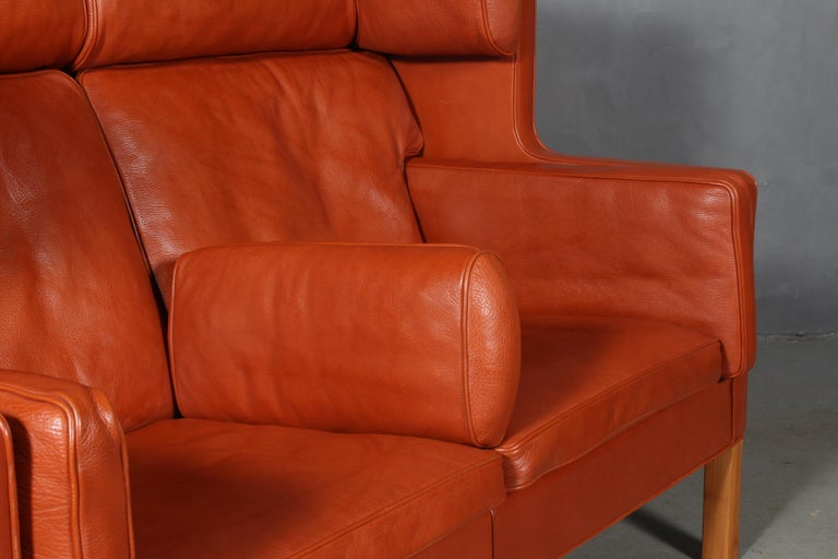 Børge Mogensen Two-Seat Kupé Sofa In Good Condition For Sale In Esbjerg, DK