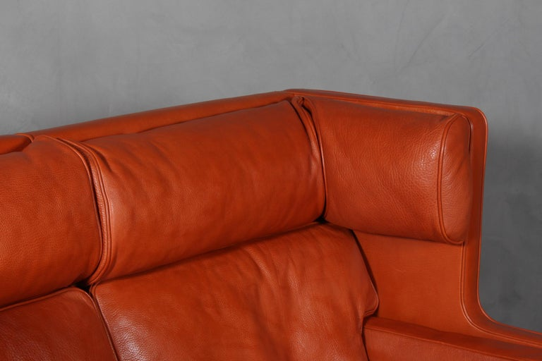 Mid-20th Century Børge Mogensen Two-Seat Kupé Sofa For Sale