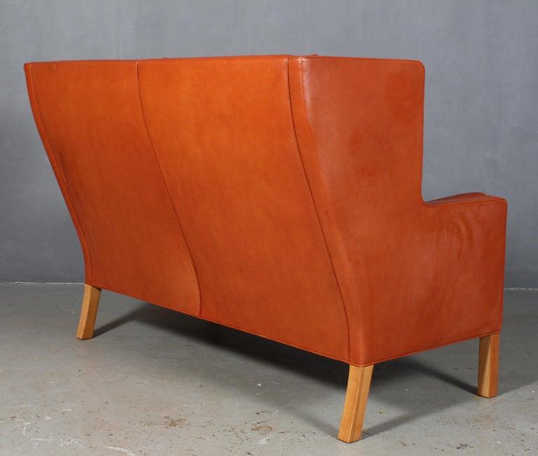 Børge Mogensen Two-Seat Kupé Sofa For Sale 1