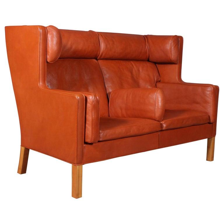 Børge Mogensen Two-Seat Kupé Sofa For Sale
