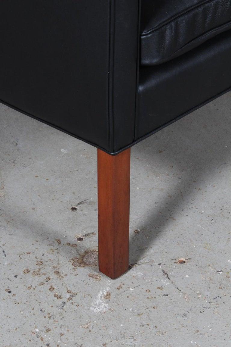 Danish Børge Mogensen Wingback Chair For Sale