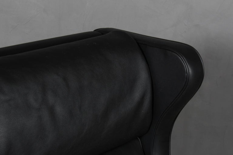 Mid-20th Century Børge Mogensen Wingback Chair For Sale
