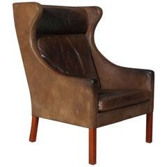 Børge Mogensen Wingback Chair