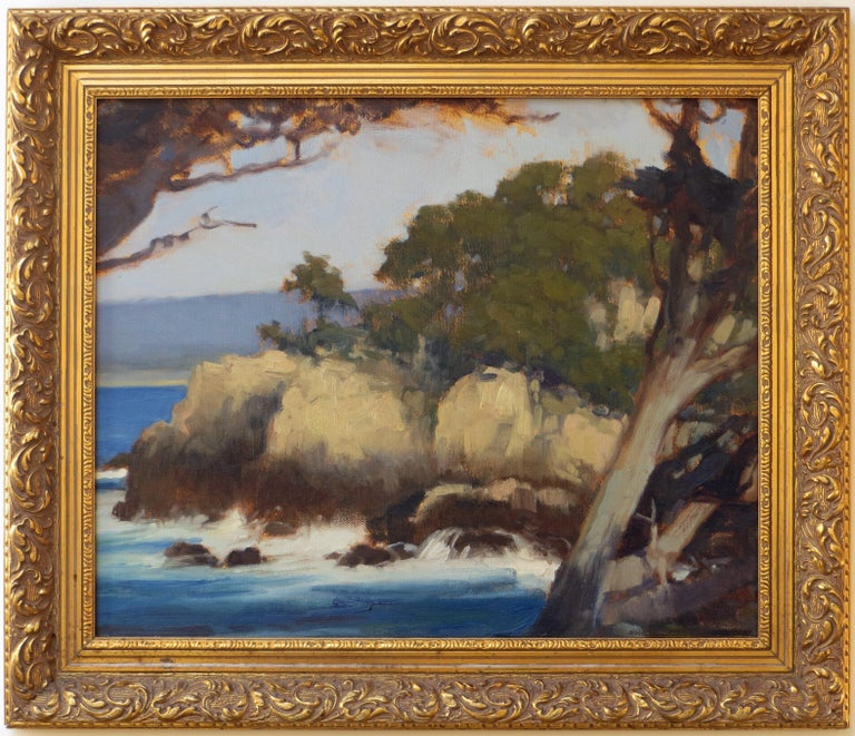 Point Lobos - Painting by Brian Blood