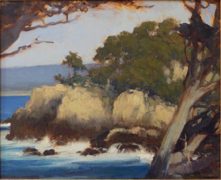 Brian Blood Landscape Painting - Point Lobos