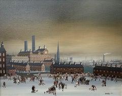 Industrial Scene - Oil Painting by BRAAQ