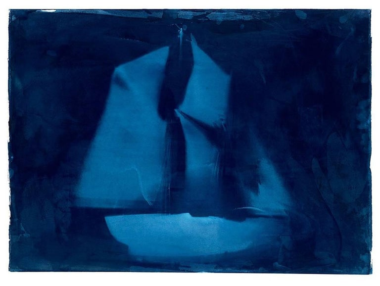 Brian Buckley Print - Untitled (Ghost Ship VII)