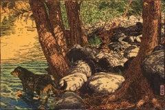Mulberry Paper Animal Prints