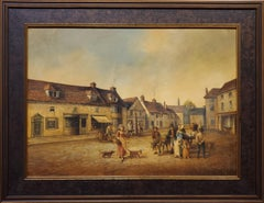 Emsworth Town Square 1820 by Brian Coole