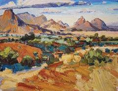 Plein-Air Study, Desert Mountain