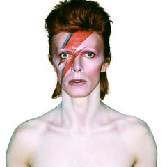'David Bowie Aladdin Sane - Eyes Open - Limited Edition Signed by David Bowie