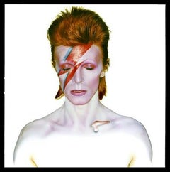 David Bowie as Aladdin Sane, 1973 - British, Music, Portrait Photography