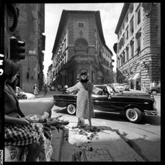 Fashion for 'Vogue', Florence, 1964 - Brian Duffy (Black and White Photography)