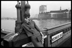 Fashion for 'Vogue', Westminster Bridge, 1961 - Brian Duffy (Black and White)
