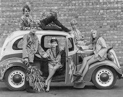 Hippiemobile (1968) - Silver Gelatin Fibre Print