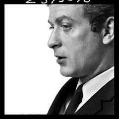 MICHAEL CAINE PORTRAIT 1964 - signed