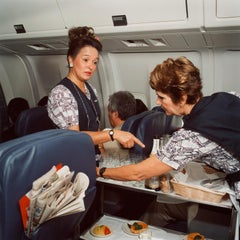 Untitled (Candace and Susan, Hawaiian Airlines)