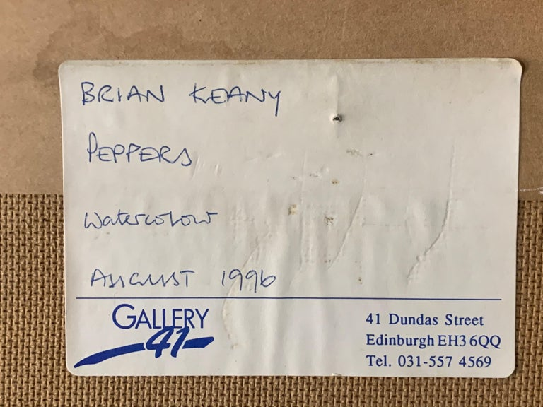 Wood Brian Keany Scottish Artist