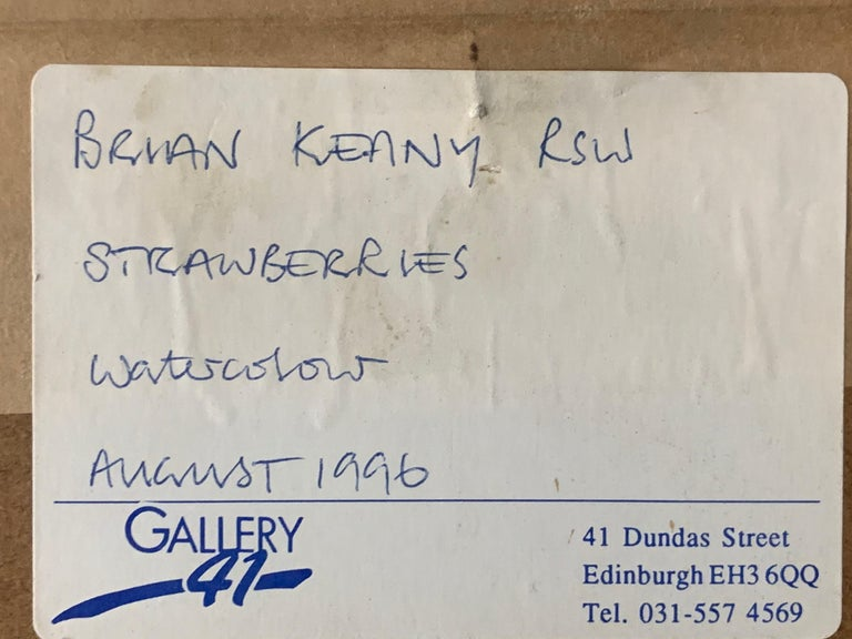 Brian Keany Scottish Artist (1945-2007)