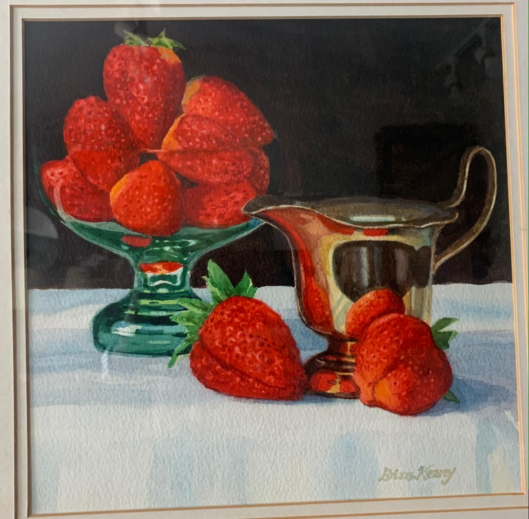 Painted Brian Keany Scottish Artist (1945-2007)