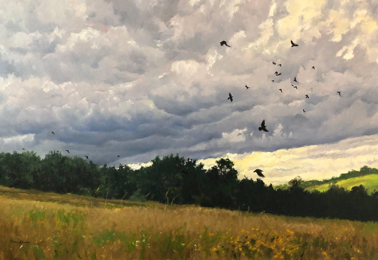 Brian Kliewer Landscape Painting - Frequent Fliers