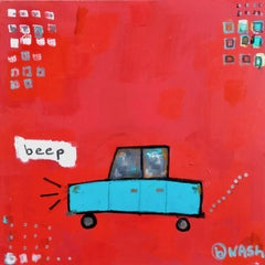 Beep, Painting, Acrylic on Canvas
