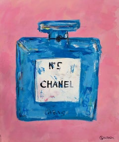 Chanel No 5, Painting, Acrylic on Canvas