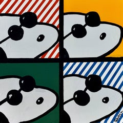 Four Snoopies, Painting, Oil on Canvas