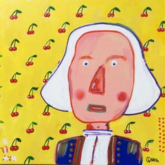 George Washington, Painting, Acrylic on Canvas