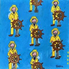 Gorton's Fisherman, Painting, Acrylic on Canvas