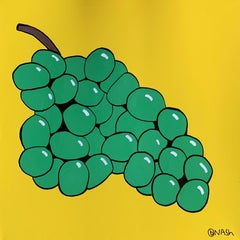Grapes, Painting, Oil on Canvas