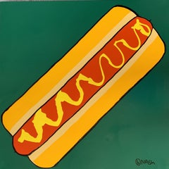 Hot Dog!, Painting, Oil on Canvas