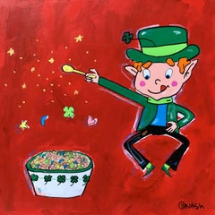 Lucky Charms, Painting, Acrylic on Canvas