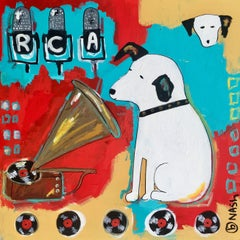 RCA, Painting, Acrylic on Canvas