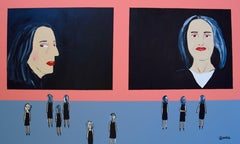 The Alex Katz Museum/Ada's Room, Painting, Acrylic on Canvas